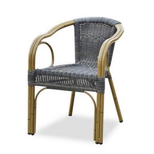 Outdoor Round Aluminium Metal Plastic Rattan Wicker Garden Chair