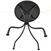 China Black Standard Carbon Steel Garden Table