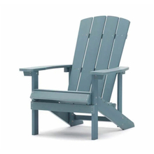 Modern Ergonomic Design Outdoor Patio Garden Plastic Wood Adirondack Chair