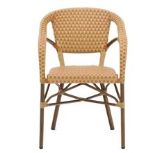 Elegant cheap indoor or outdoor cafe restaurant home aluminium furniture garden chairs