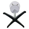 Tall Aluminium Modern Round Metal Outdoor Furniture High Stool Portable Bar Table