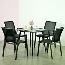 New Design Modern Bar Home Restaurant Outdoor Furniture Garden Aluminum Sets Chairs