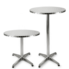 Outdoor Cocktail Tall High Top Round Bar Table