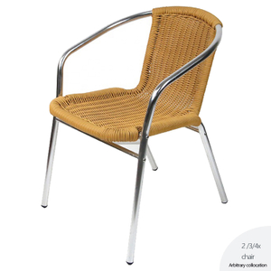 French Chairs Outdoor Cane Cafe Rattan Bistro Chair