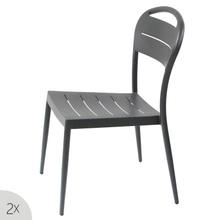 Outdoor Hotel Dining Backyard Aluminium Chair