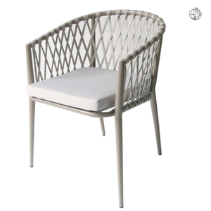 Garden Bar Cafe Rope Chair Factory Customized