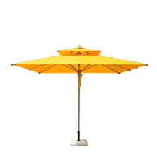 Outdoor Large Patio Offset Table Sun Umbrella