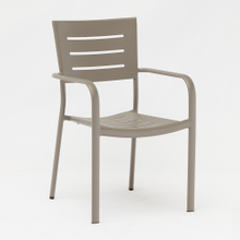 bistro outdoor patio aluminium chairs