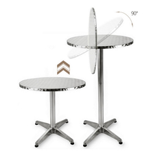 Outdoor Patio Folding Portable Top Cocktail Tall Bar Table