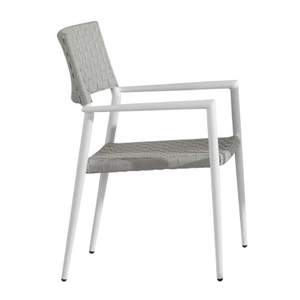 Modern Industrial Cheap White Stacking Restaurant Chairs For Sale