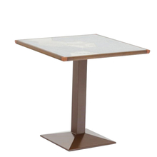 Patio Furniture Manufacturer Design Ceramic Tile Top Dining Table